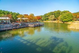 독립기념관의 가을풍경
