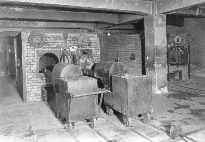 주 수용소에 위치한 최초의 가스실