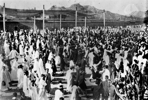 1919년 3월 1일, 독립만세운동에 참여한 인파